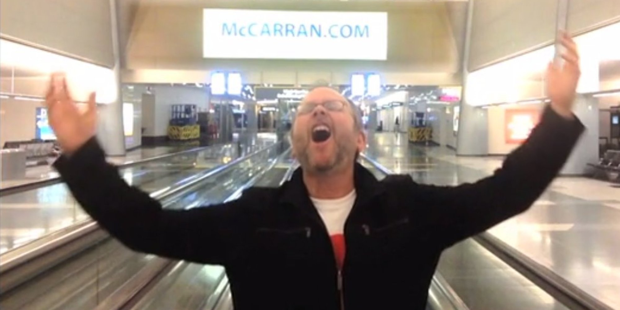 Guy Stuck Alone In Airport Remakes Entire Celine Dion ...