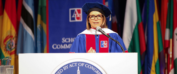 KATIE COURIC COMMENCEMENT
