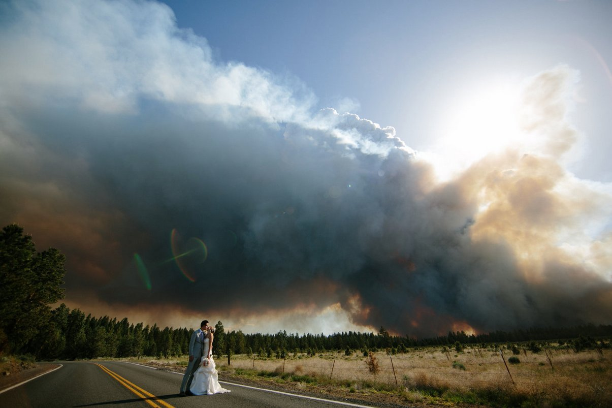 wildfire wedding