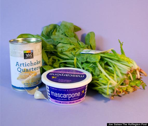 spinach artichoke ingredients