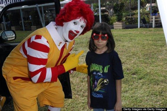 kids ronald mcdonald