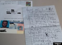 Kid Finds Lost Driver's License, Offers The Best Advice