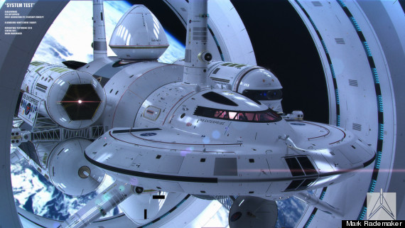 2014: Warp Drive Space Craft O-UBER-570