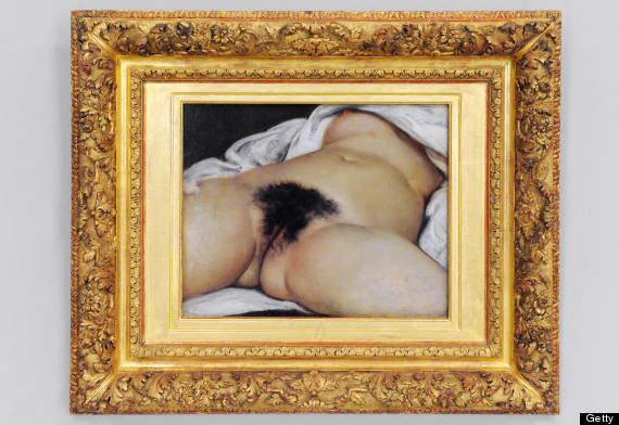 gustav courbet the origin of the world