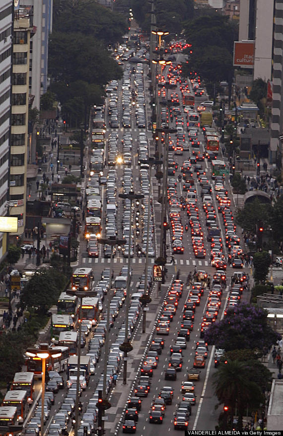 sao paulo road traffic
