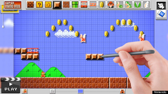 make your own mario video game