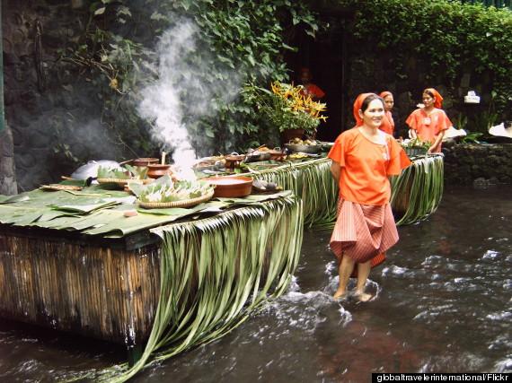 waterfall restaurant philippines