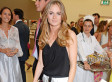 Cressida Bonas Wears Sexy Backless Top At London Art Gala