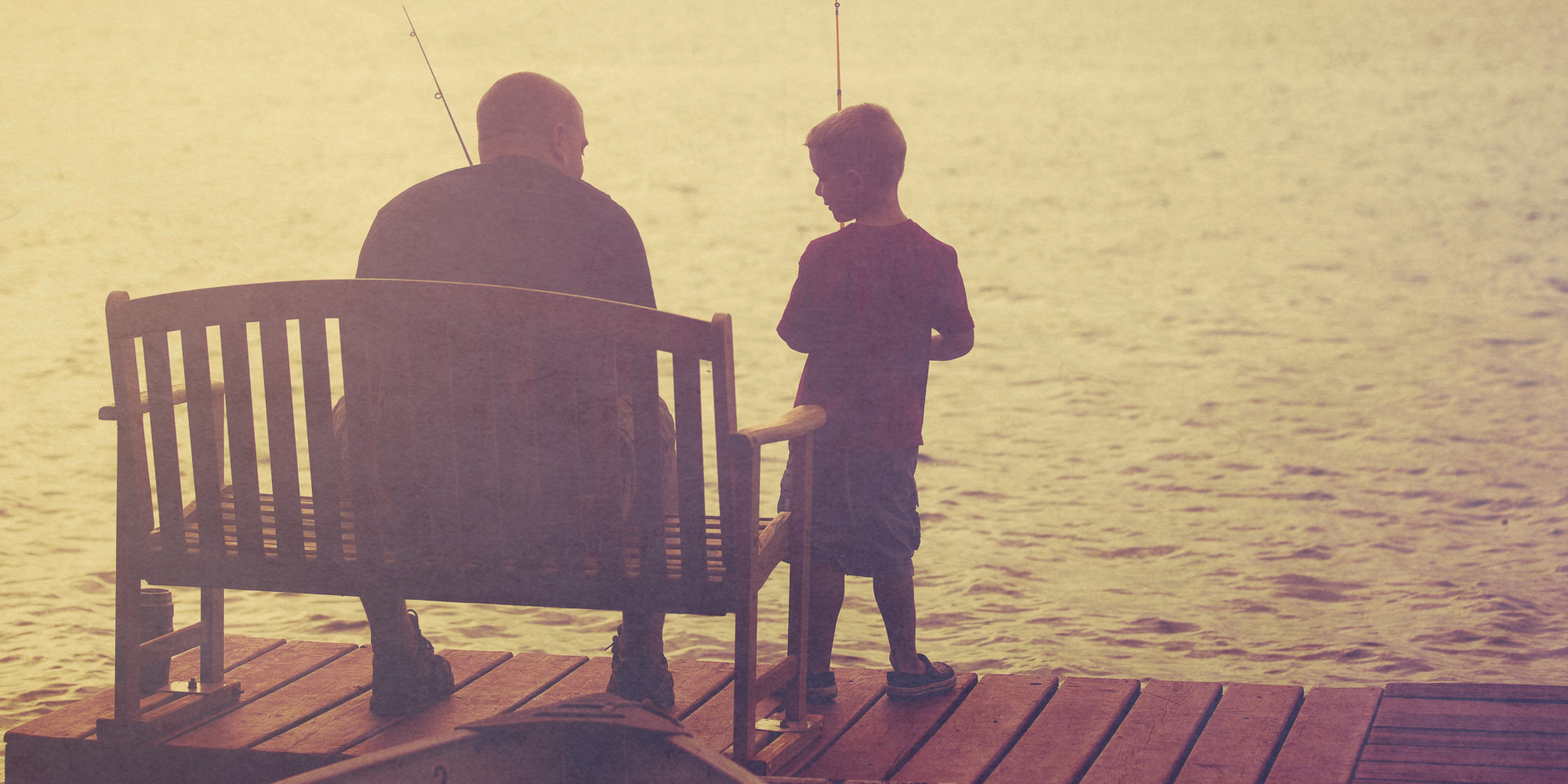 Father 39 s day is for life adrian millar for Father son fishing