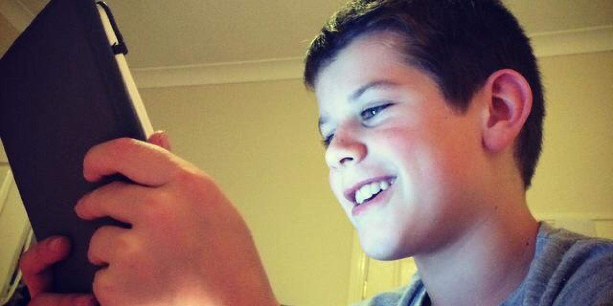 kidgay Orlando Burcham, Australian 11 Year Old, Asks Tony Abbot For Gay Marriage  For His Moms | HuffPost