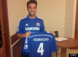 Cesc Pests Chelsea Sign Fàbgregas