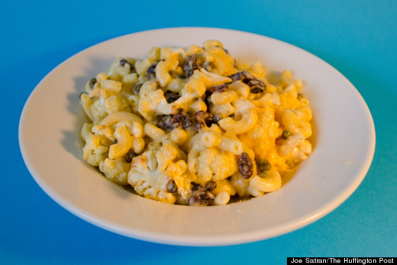 cauliflower raisin cooked