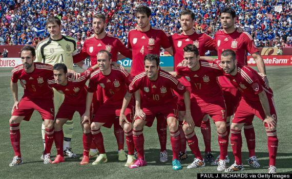 spanish team portrait