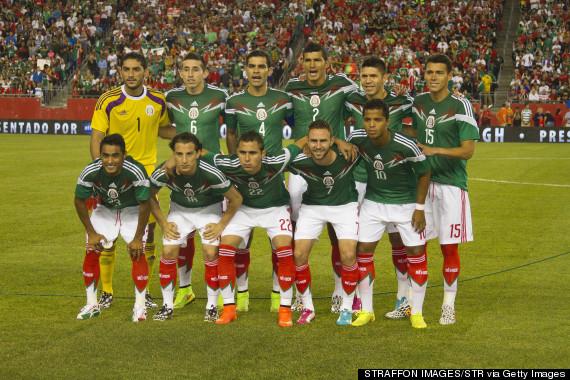 mexican team portrait