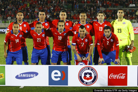 chilean team portrait