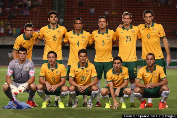 australian team portrait