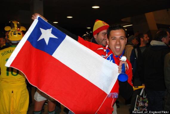 chile soccer fans