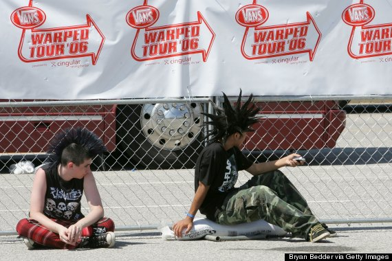 vans warped tour spectators