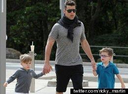 Así reaccionaron los hijos de Ricky Martin al descubrir que su papá era famoso