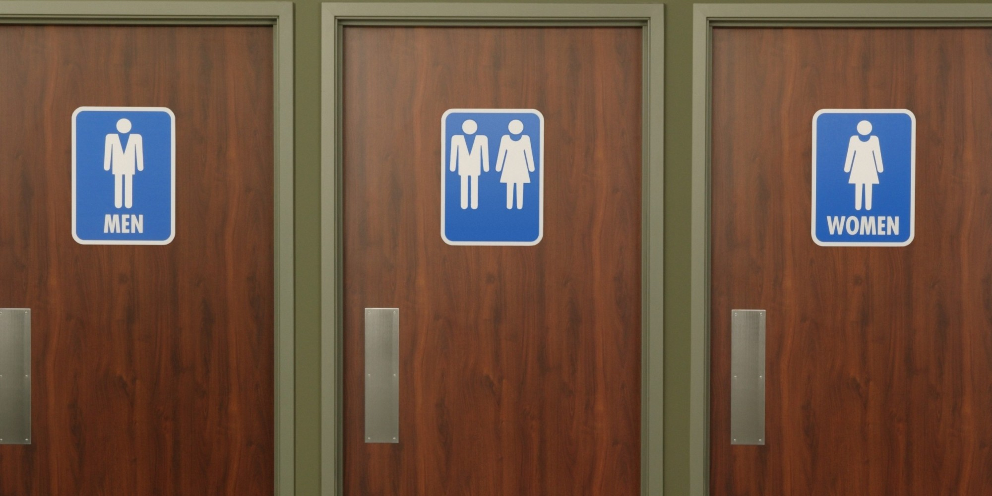 Bathroom Signs Japan poll shows the majority of americans oppose transgender people