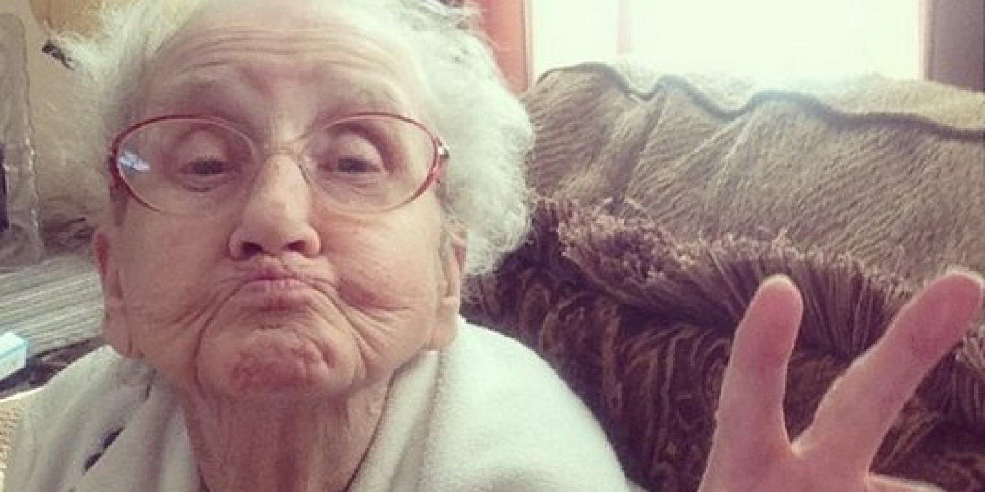 Фото старых бабушек которые дают 26 фотография