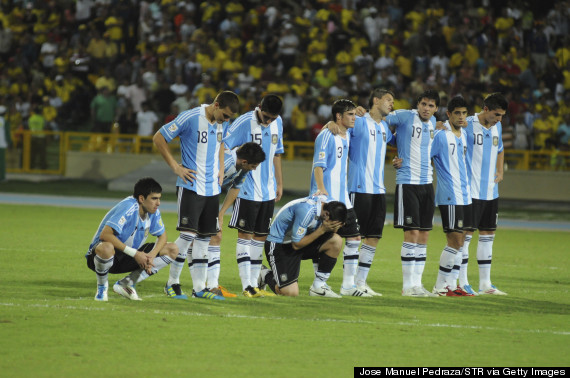 argentina world cup defeat football