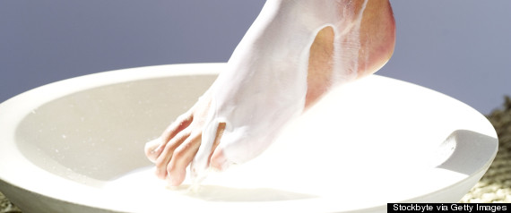 lotion feet