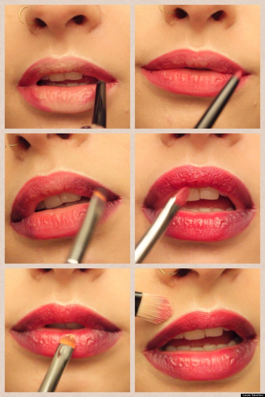 Degrad en los labios paso a paso en fotos huffpost for Labios mate paso a paso