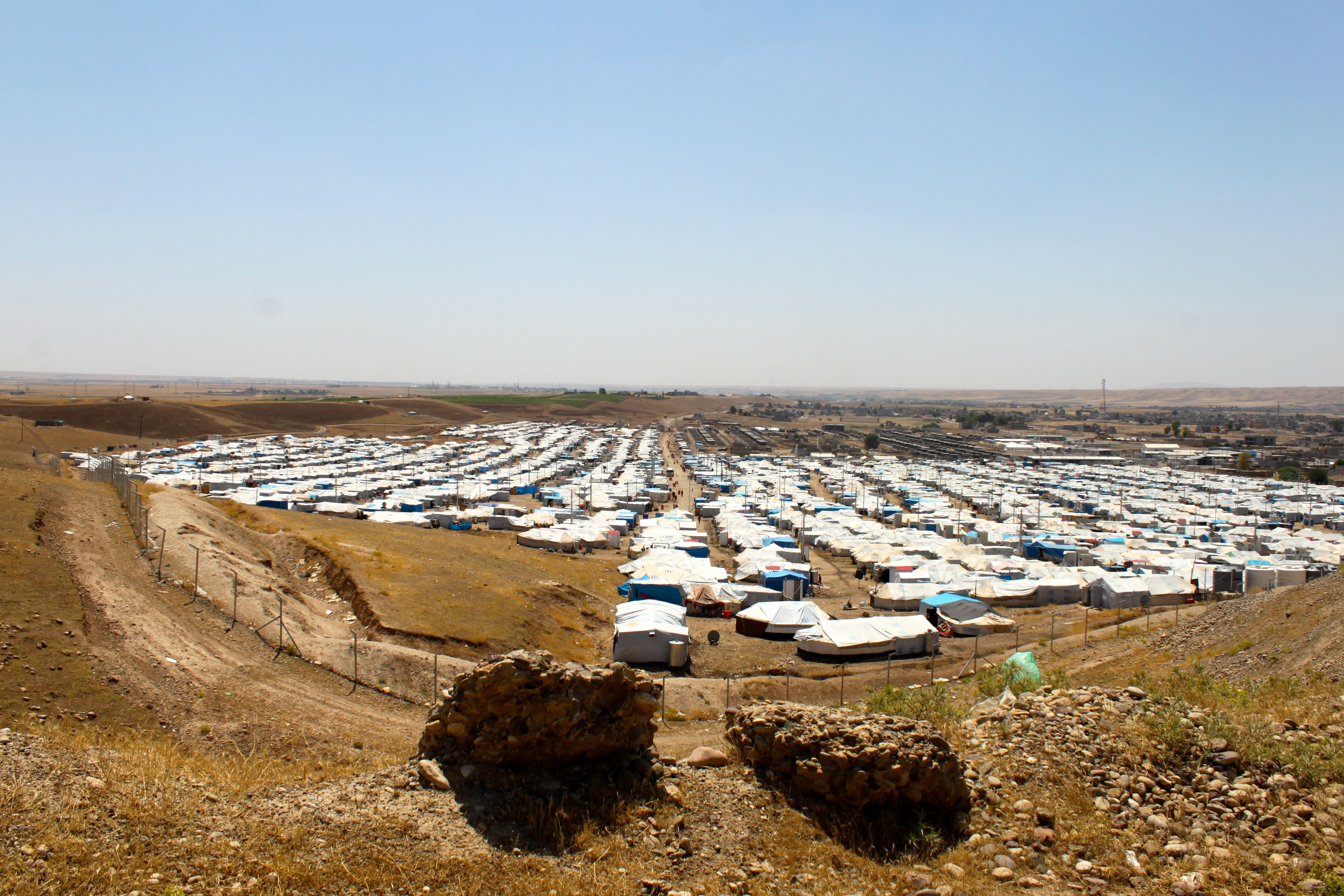 kawergosk refugee camp