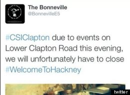 Hackney Bar Apologises For 'Hateful' Tweets About Stab Victim (PICS)