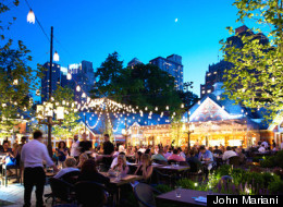 New York's Tavern On The Green Lights Up Central Park Again