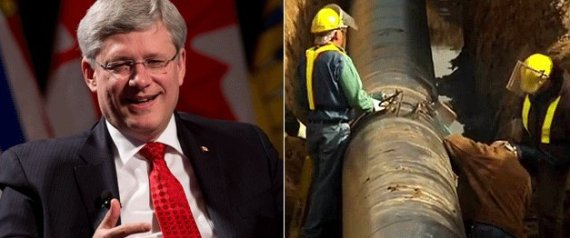 STEPHEN HARPER ENBRIDGE