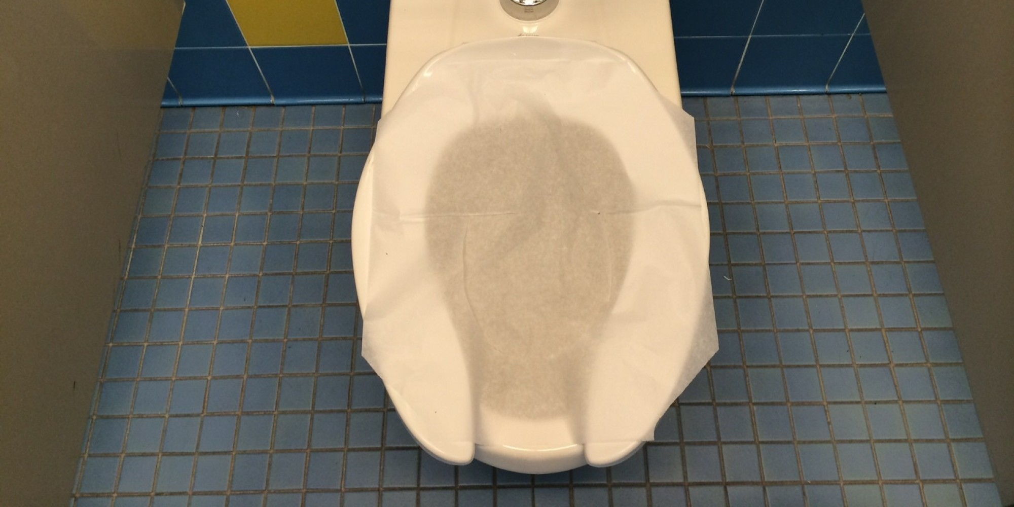 Why Using Toilet Seat Liners Is Basically Pointless