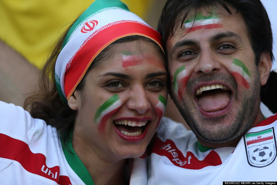 iran fifa world cup fans