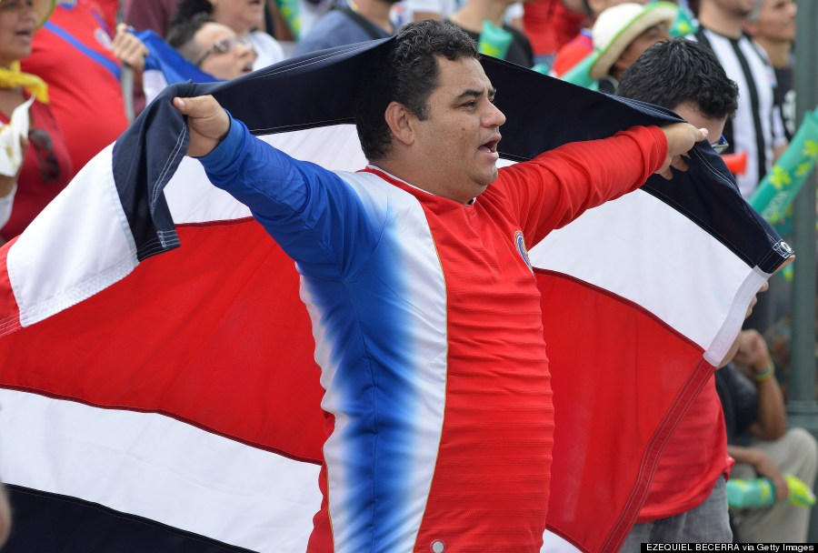 costa rica fifa world cup fan