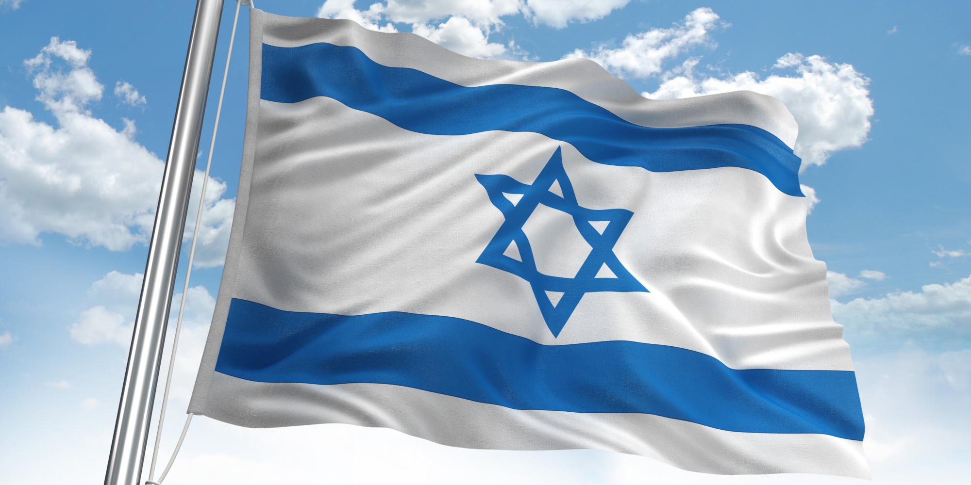 обои для рабочего стола флаг израиля № 389478  скачать