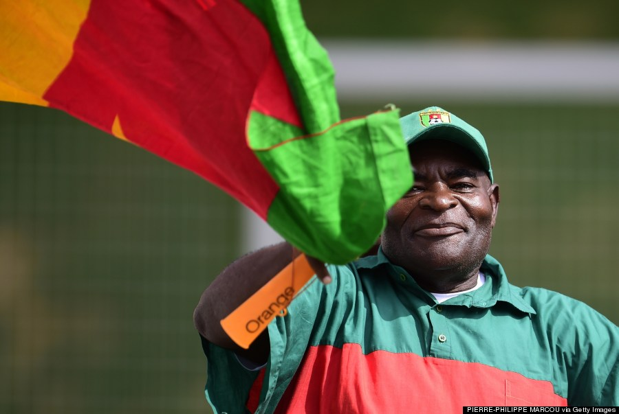 cameroon world cup fans