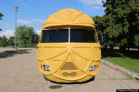 mr peanut s nutty new ride huffpost