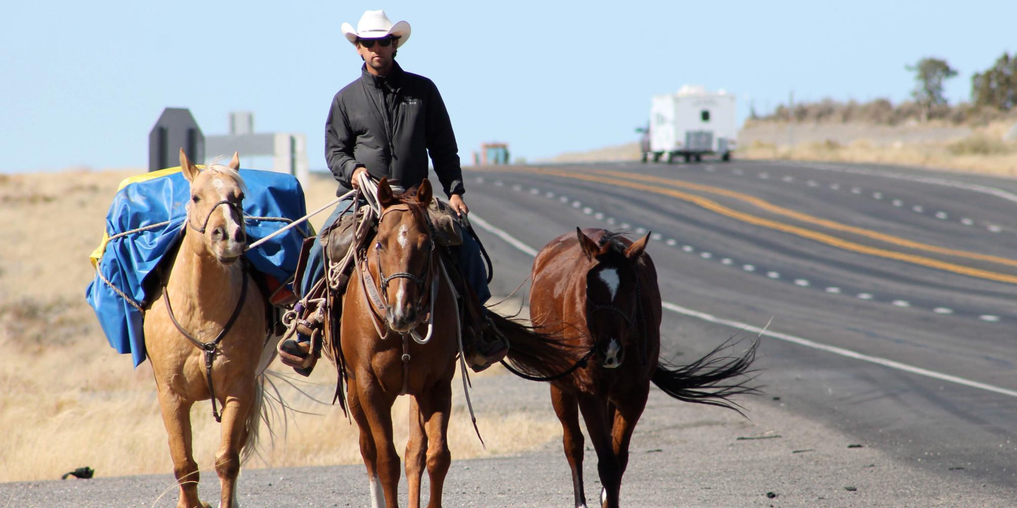 Filipe Masetti Leite Completes Horseback Ride To Brazil In