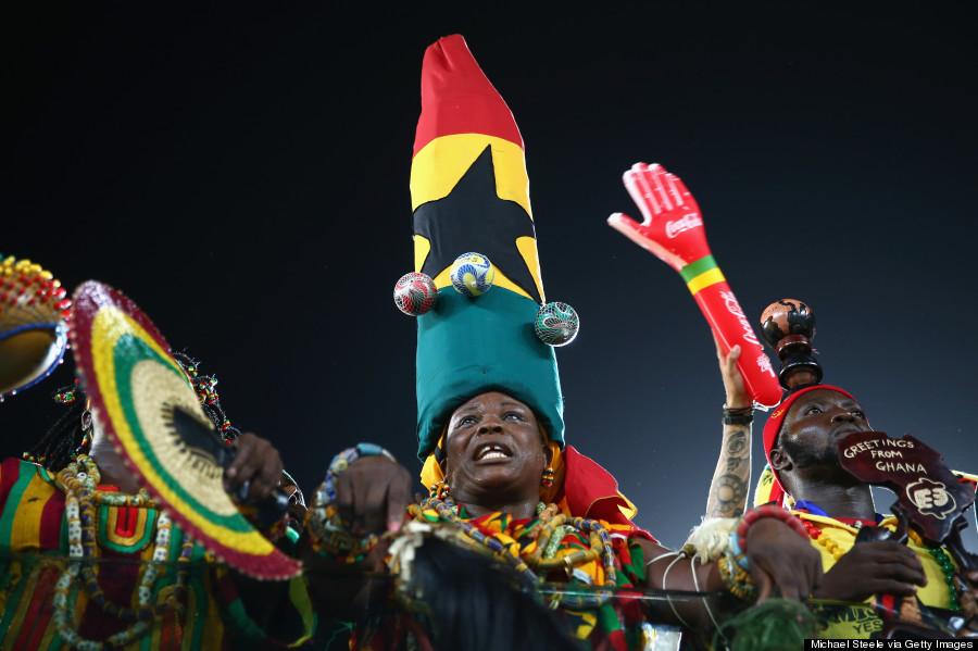 ghana world cup fans