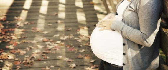 PREGNANT WOMAN SAD