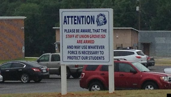 texas school staff are armed