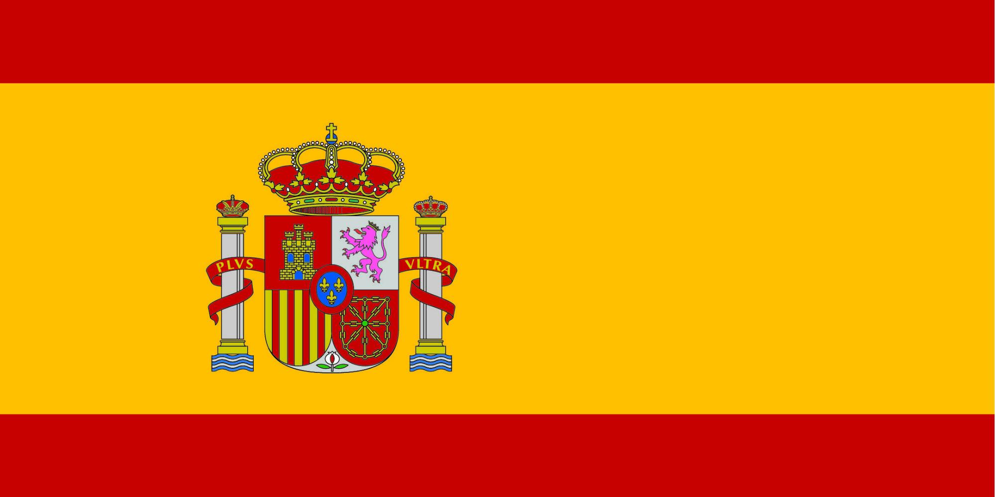 Обои для рабочего стола флаг испания