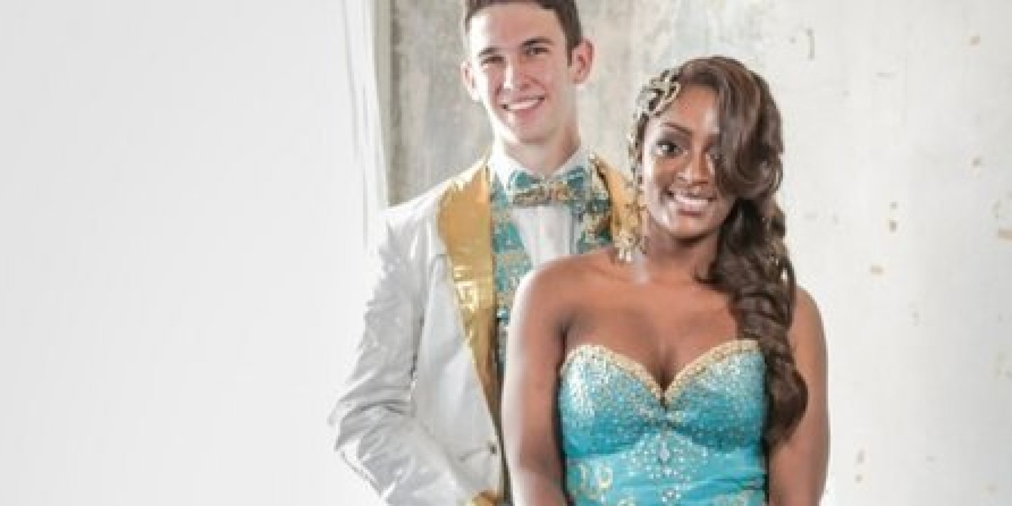 These 20 Incredible Prom Dresses And Tuxedos Are Made Entirely From