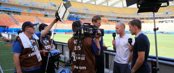 BBC ITV WORLD CUP