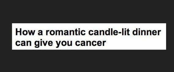 DAILY MAIL CANDLELIT DINNER