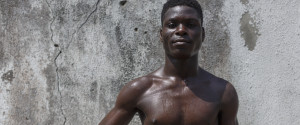 Black Man Soccer