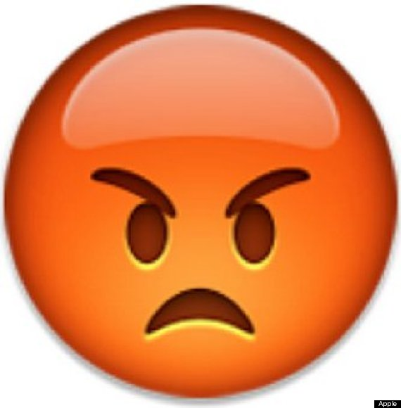 For when you get angry about factually inaccurate emojis Annoyed Smiley Whatsapp