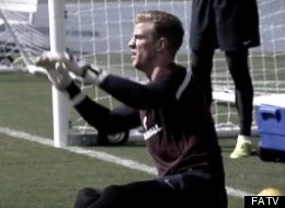 Inside Access With England Goalkeeper Hart (Video)
