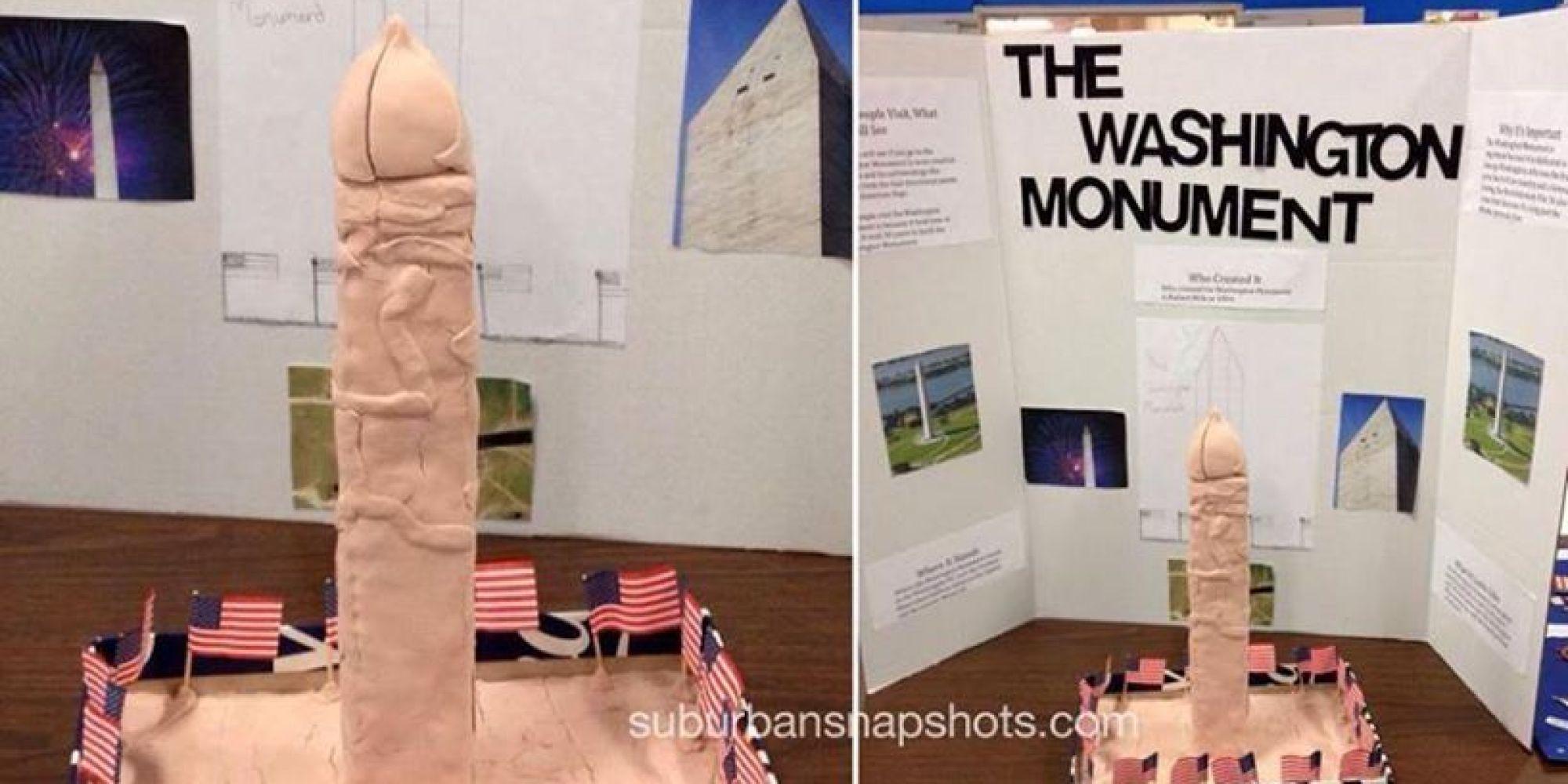 This Washington Monument Replica Looks Like Something